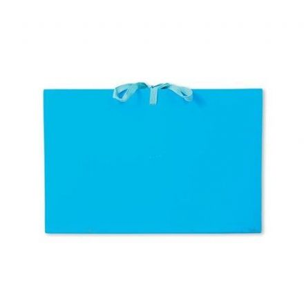5 Star Expanding File with Cloth Ties / 16 Pockets / A-Z, Quarters, 1-31 / Foolscap / Blue